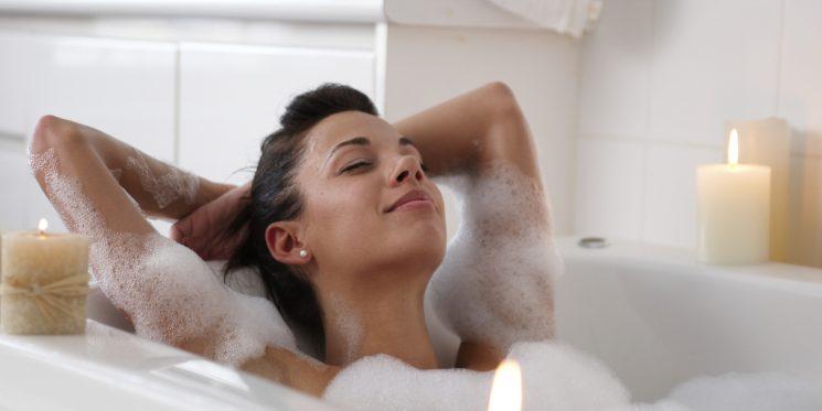 tắm sau sinh