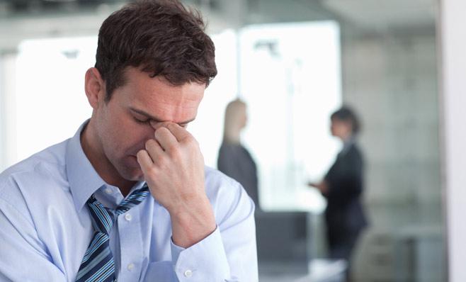 Đối với nam giới, stress khiến số lượng và chất lượng tinh binh giảm sút.