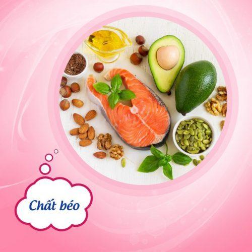 nhóm chất béo bổ sung dinh dưỡng cho bà bầu