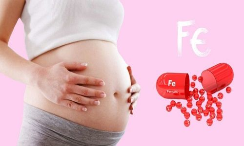 Bổ sung sắt khi mang thai