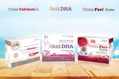 Bộ 3 vi chất Sắt - Canxi - DHA tốt nhất cho bà bầu