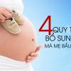 4 quy tắc bổ sung sắt cho bà bầu mà mẹ nên biết