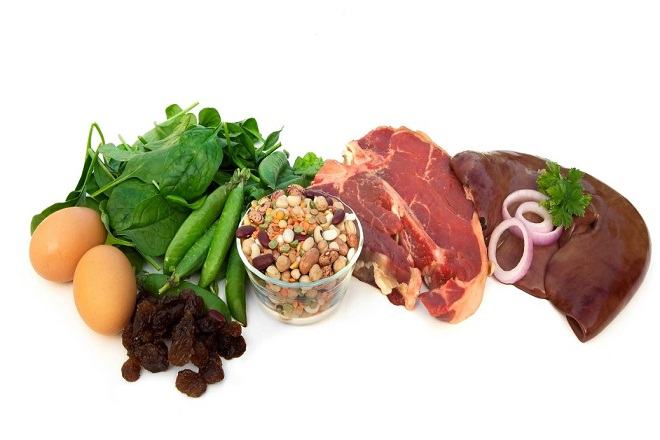 thực phẩm giàu sắt và viên sắt giúp ngăn ngừa thiếu máu thiếu sắt