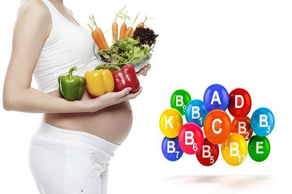 Vitamin cho bà bầu