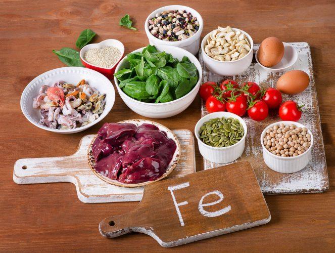 bổ sung sắt cho phụ nữ mang thai từ thực phẩm