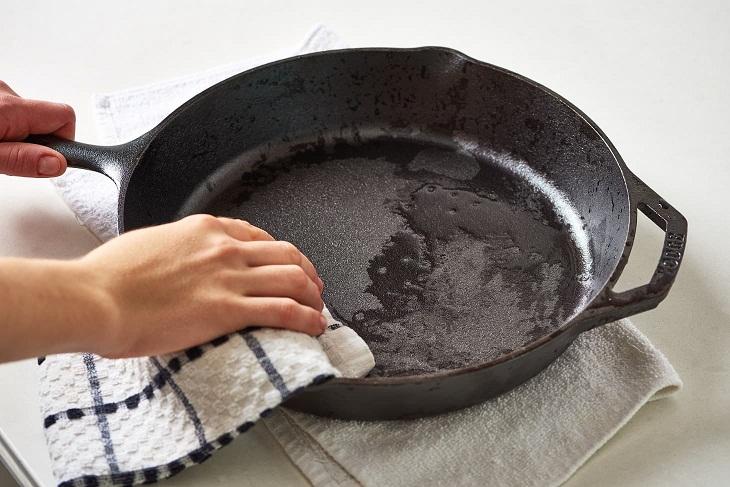 Nấu ăn bằng nồi gang giúp tăng cường hấp thu sắt