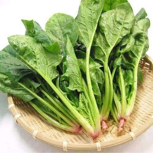 các loại rau bổ sung sắt cho bà bầu thường thấy trong mùa đông