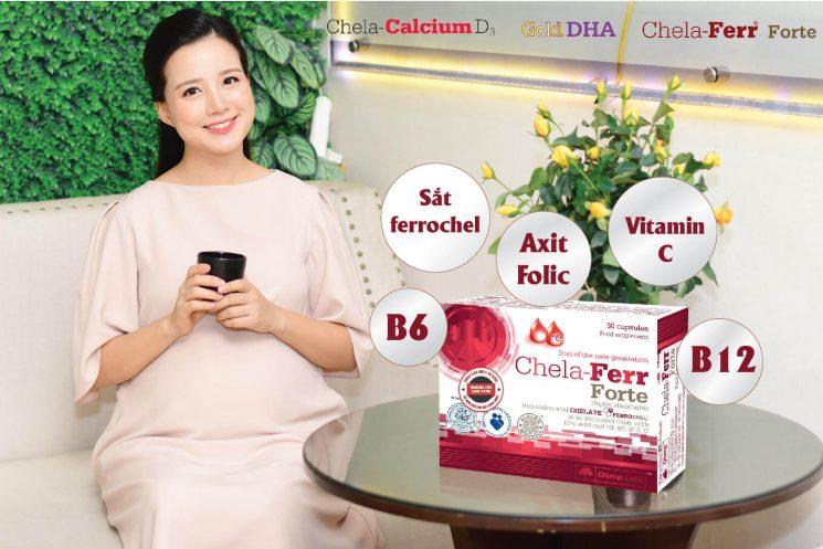 Mang thai 3 tháng đầu có nên uống axit folic không