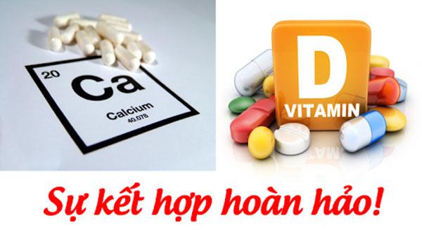 uống canxi và vitamin d cùng lúc được không