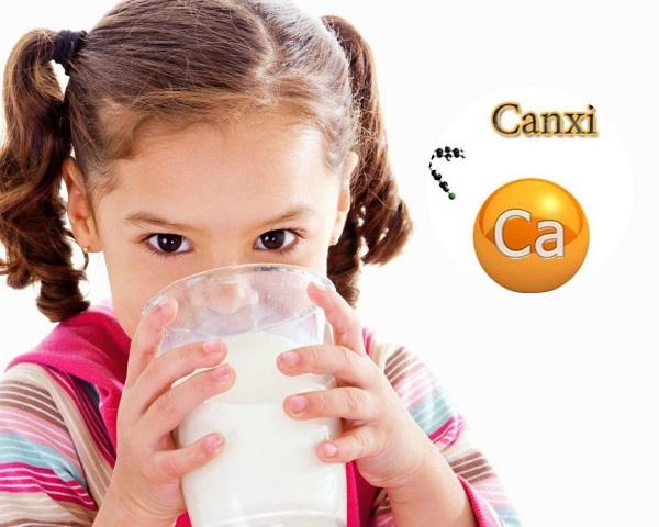 Uống canxi với sữa được không