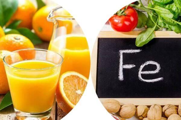 Uống sắt với nước cam mang lại những lợi ích gì?