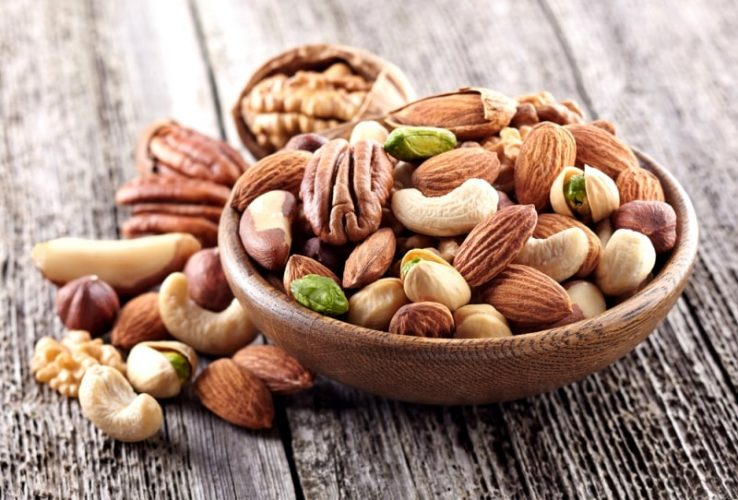 Thức ăn giàu canxi cho mẹ bầu từ các loại hạt