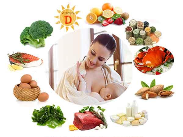 Thực phẩm nhiều canxi cho bà đẻ để sữa đủ dinh dưỡng