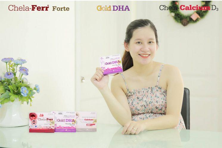 Bà bầu uống DHA vào thời điểm nào của thai kỳ