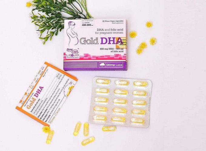DHA cho bà bầu uống khi nào trong thai kì?