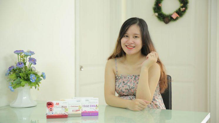 Vitamin tổng hợp cho mẹ sau sinh của Nhật