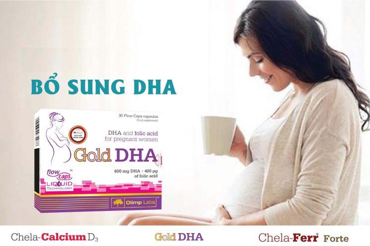 Bà bầu bổ sung DHA uống trước hay sau ăn tốt hơn?