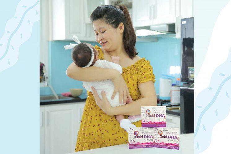 Liệu trình bổ sung DHA cho bé trong 2 năm đầu đời tốt nhất